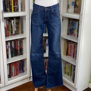 Lucky Brand Sweet'n Flare Dark Wash Flare Leg Jean